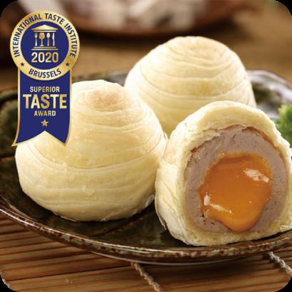 大甲師芋頭流芯酥榮獲iTQi比利時風味絕佳獎星級殊榮!