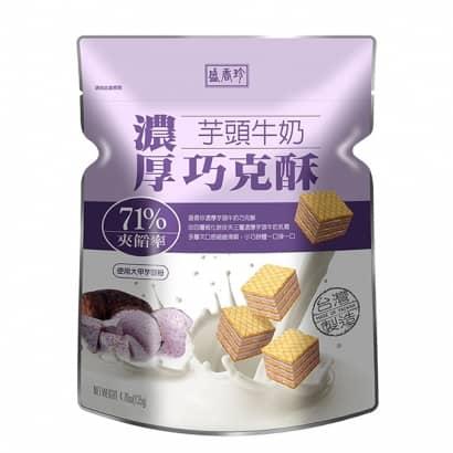 盛香珍濃厚芋頭牛奶巧克酥62001.jpg